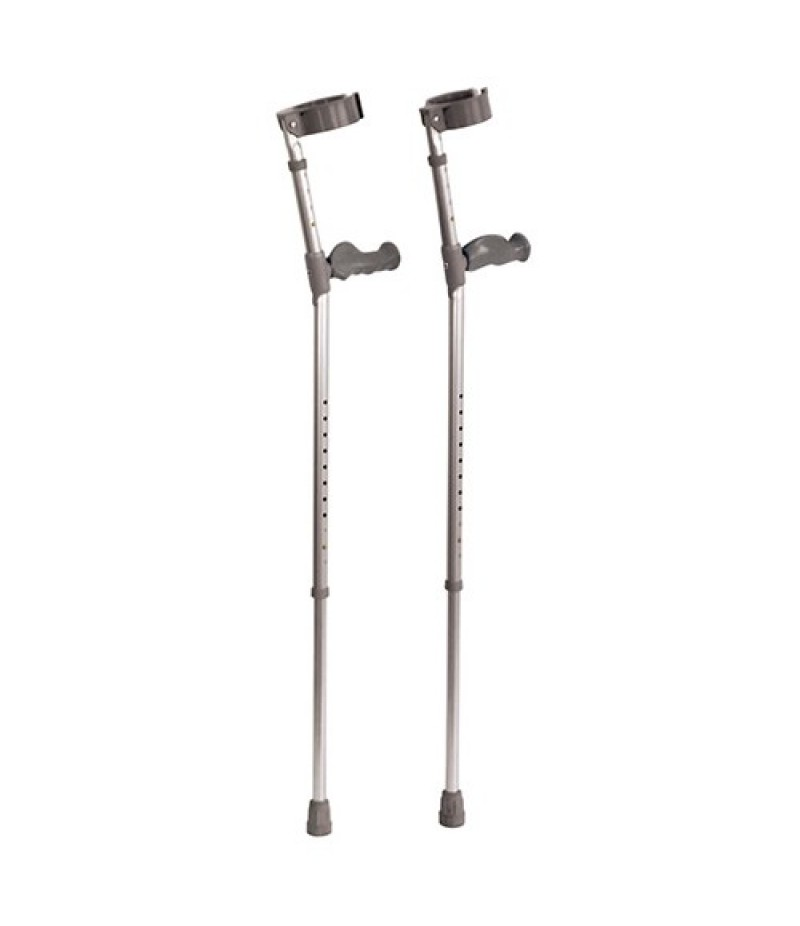 Elbow Crutches with Ergonomic Handle