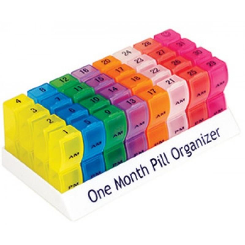 One Month Pill Organiser
