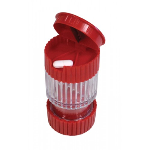 3 in1 Pill Crusher, Cutter and Storage