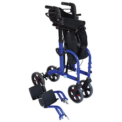 Duo Deluxe 2 in 1 Rollator and Transit Chair