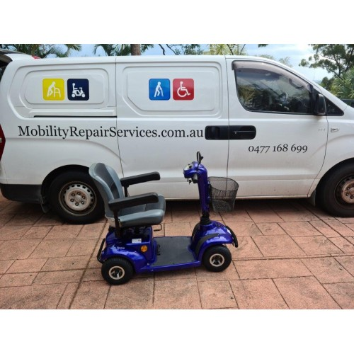 Preloved invacare taurus pull apart scooter