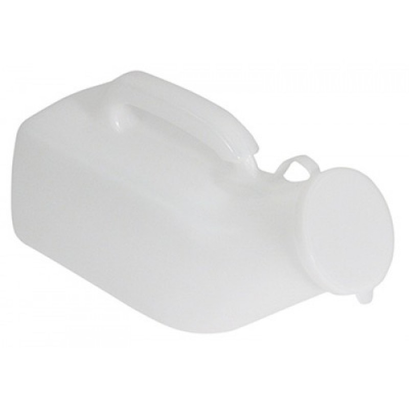Male Urinal with Lid
